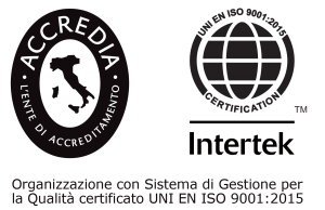 Intertek Italia UNI-EN-ISO-9001 2015 Accredia